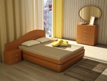 Кровать Тау D  классик